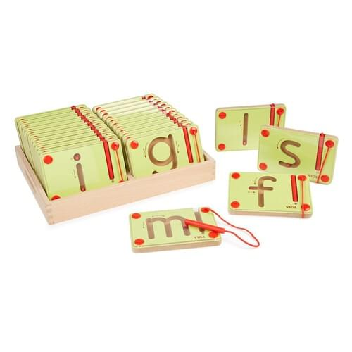Lowercase Magnetic Letter Mazes