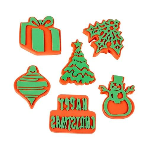 Christmas Foam Stamps Set