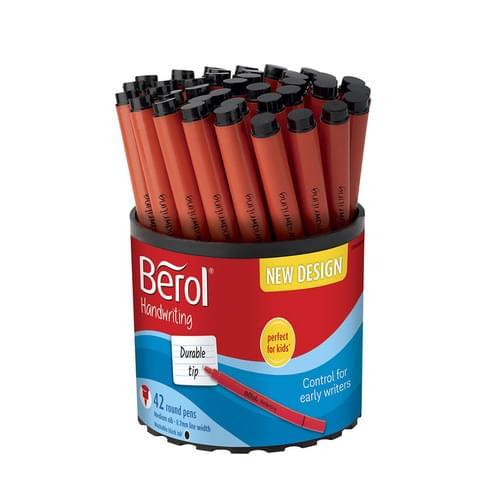 Berol Handwriting Pen Black Tub of 42