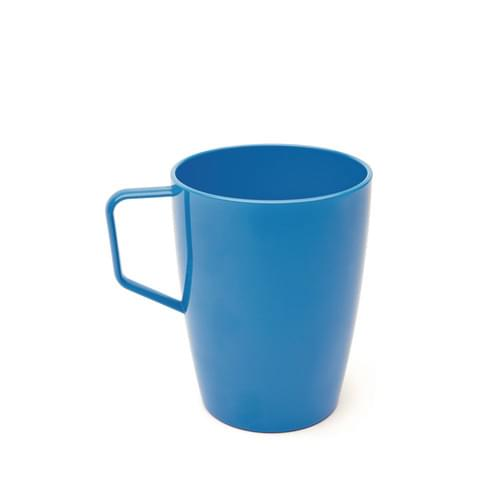 280ml/10oz Beaker with Handle Med Blue Pk10