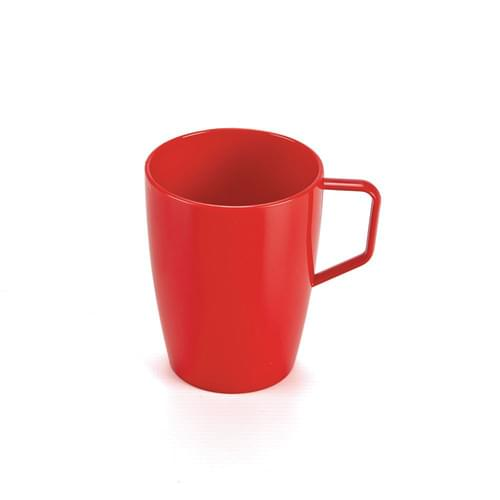 280ml/10oz Beaker with Handle Red Pk10