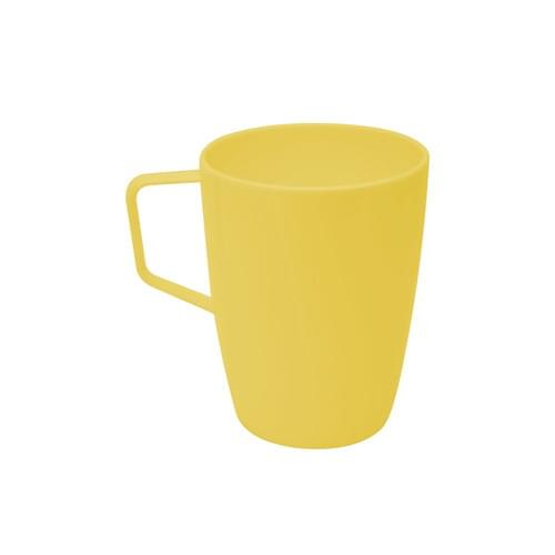 280ml/10oz Beaker with Handle Yellow Pk10