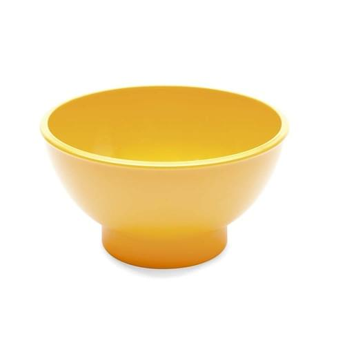 Round Sundae Dish Yellow Pk10