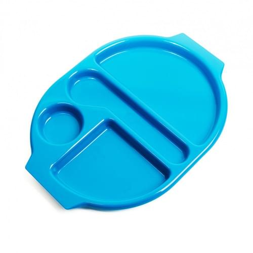 Large Meal Tray Med Blue Pk10