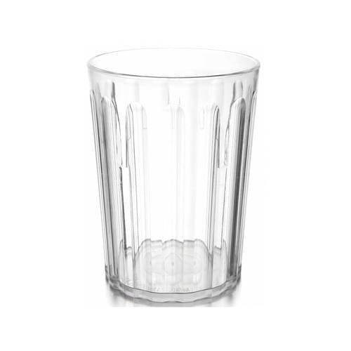 250ml/9oz Fluted Tumbler Clear Pk10