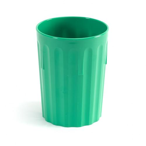 250ml/9oz Fluted Tumbler Emerald Green Pk10