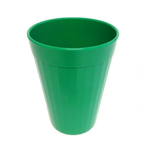 150ml/5oz Fluted Tumbler Emerald Green Pk10