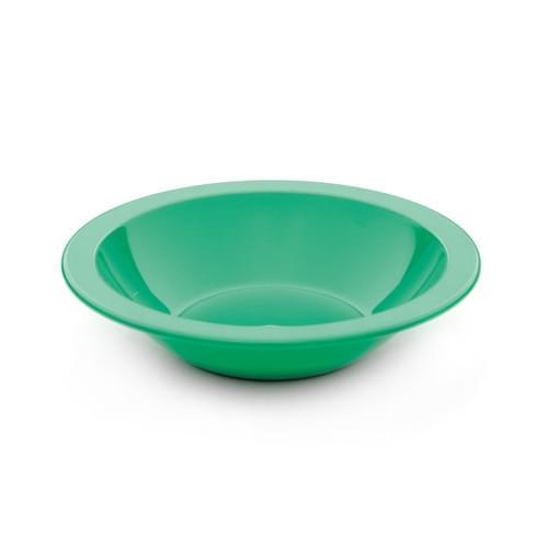 15cm Narrow Rimmed Bowl Emerald Green Pk10