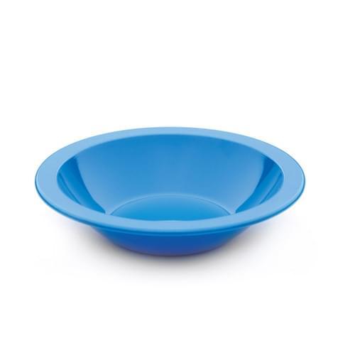 15cm Narrow Rimmed Bowl Med Blue Pk10