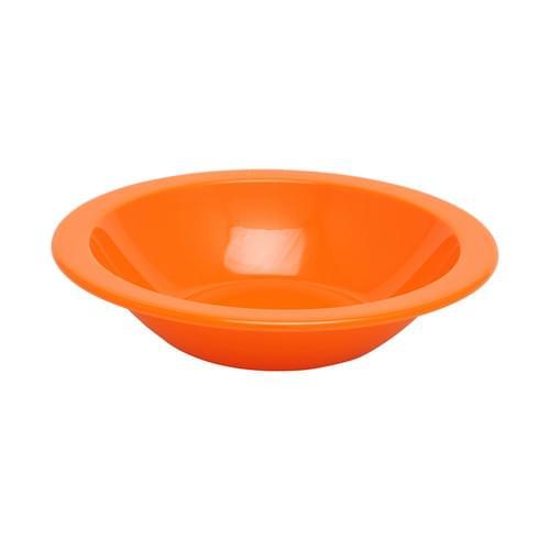 15cm Narrow Rimmed Bowl Orange Pk10