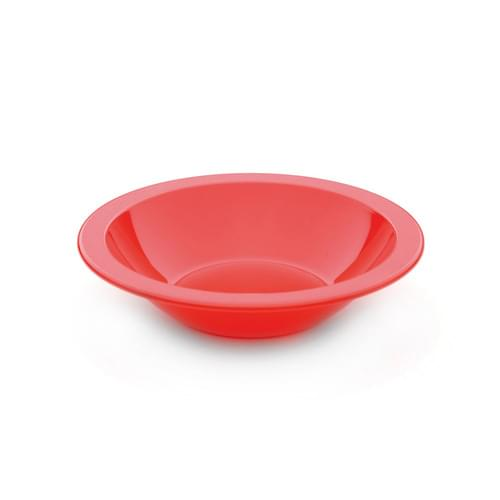 15cm Narrow Rimmed Bowl Red Pk10