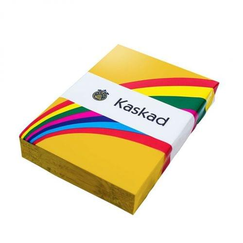 Kaskad Coloured Paper Canary Yellow A4 120gsm