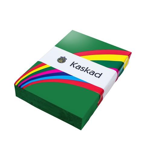 Kaskad Coloured Card Mallard Green A4 160gsm
