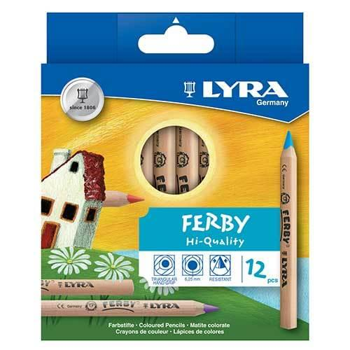 Lyra Ferby Colouring Pencils Assorted Wallet of 12