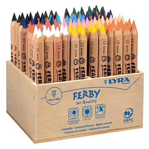 Lyra Ferby Colouring Pencils Assorted Classpack of 96