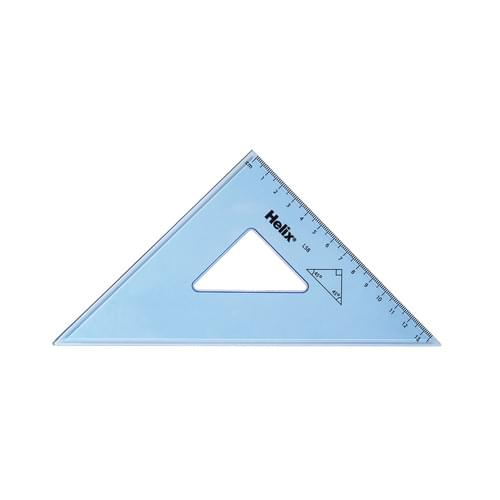 Helix 21cm/45° Set Square Pk25