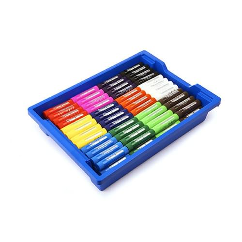 Little Brian Paint Sticks Classic Assorted Classpack of 144 in Gratnells Tray * OUT OF STOCK *