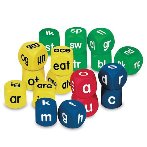 Soft Foam Phonics Cubes