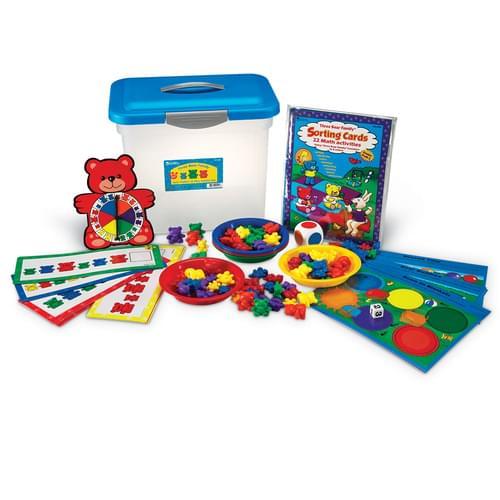 Three Bear Family Sort, Pattern & Play Set