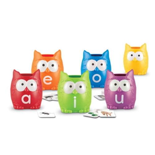 Vowel Owls Letters & Sounds Sorting Set