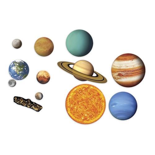Giant Magnetic Solar System Demonstration Set