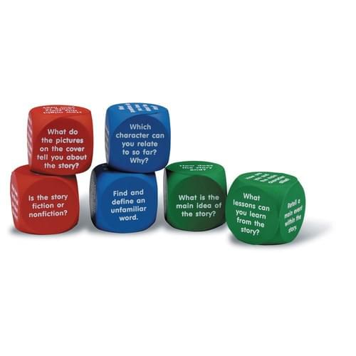 Reading Comprehension Cubes