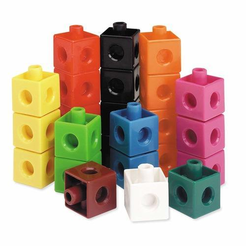 2cm Snap Cubes Pk1000 Assorted Colours