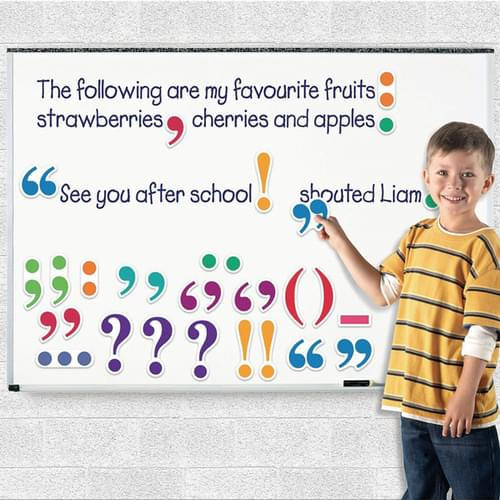 Giant Magnetic Punctuation Demonstration Set