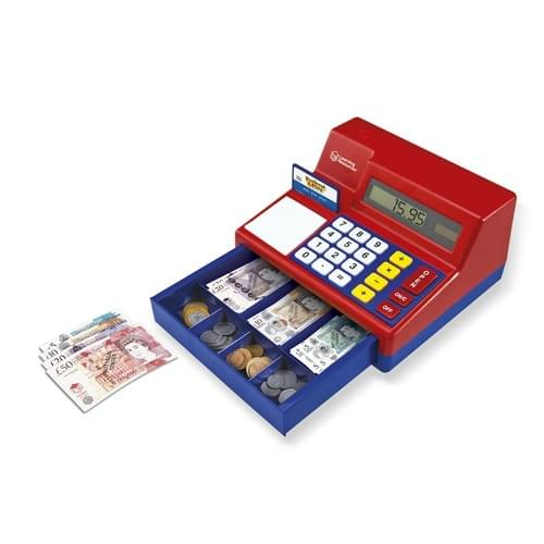 Pretend & Play Solar Powered Calculator Cash Register