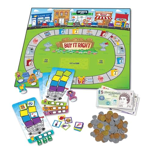 Buy it Right Shopping Board Game
