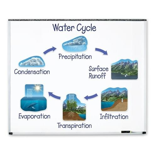 Giant Magnetic Water Cycle Demonstration Set