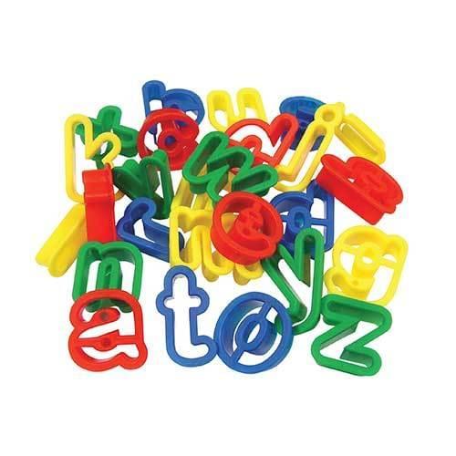 Lower Case Alphabet Modelling Dough Cutters Set