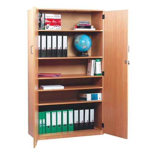 1818mm Tall Cupboard with 5 Shelves Beech