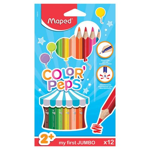 Maped Color'Peps Maxi Colouring Pencils