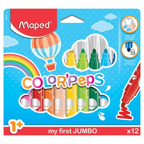 Maped Color'Peps Maxi Felt Tips