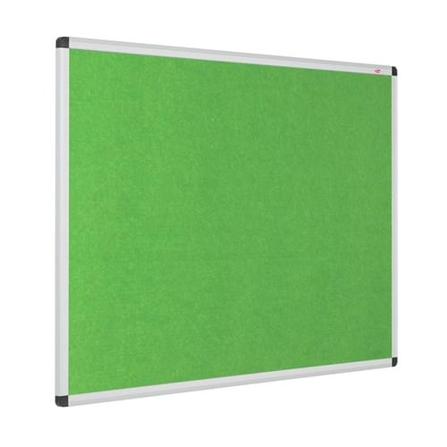 Resist-a-Flame Eco-Colour Aluminium Framed Noticeboard 900x600mm Apple