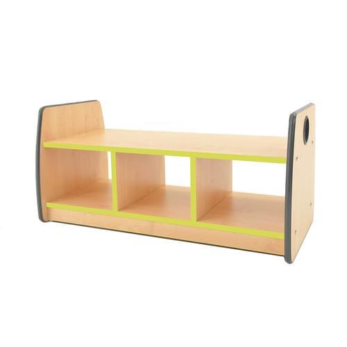 Colouredge Bench Unit with Lime Trim