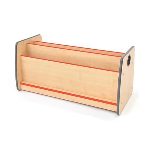 Colouredge Low Floor Book Unit with Red Trim