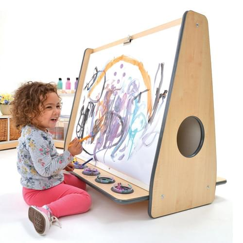 Colouredge Double-sided Low Floor Painting Easel