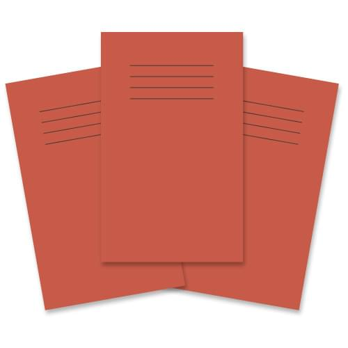 Rhino Vocabulary Books 6.5x4in 7mm Ruled Red 48 Pages
