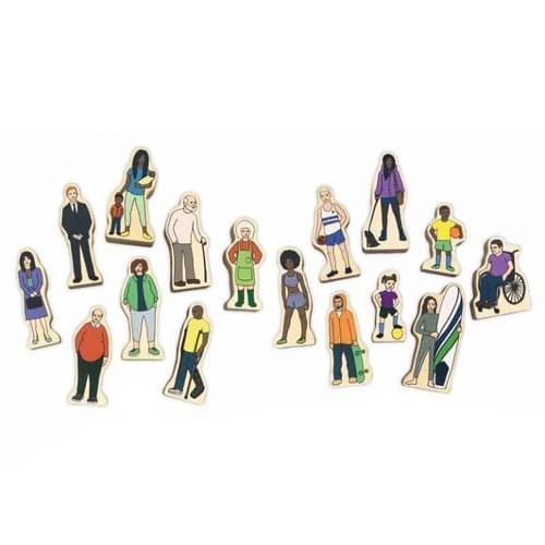 Community Wooden Figures
