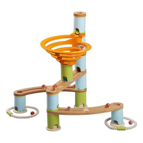 Bamboo Marble Run 48 Piece Set