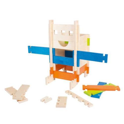 Mimido 80 Piece Wooden Construction Set