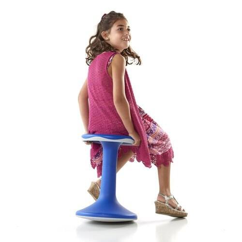 Tilo Motion Stool 45cm Blue