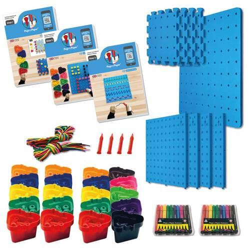 Pegs to Paper Step 1, 2 & 3 Nursery Set A