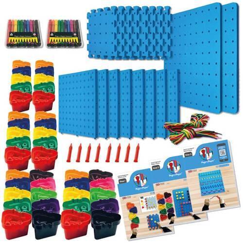 Pegs to Paper Step 1, 2 & 3 Nursery Set B