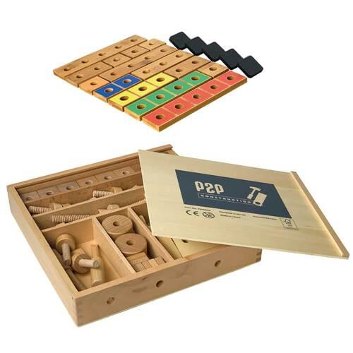 Pegs to Construction Set
