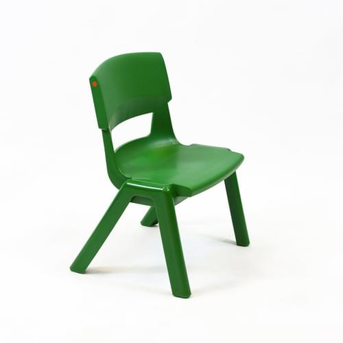 Postura+ Chair Size 1 Seat H260mm Forest Green