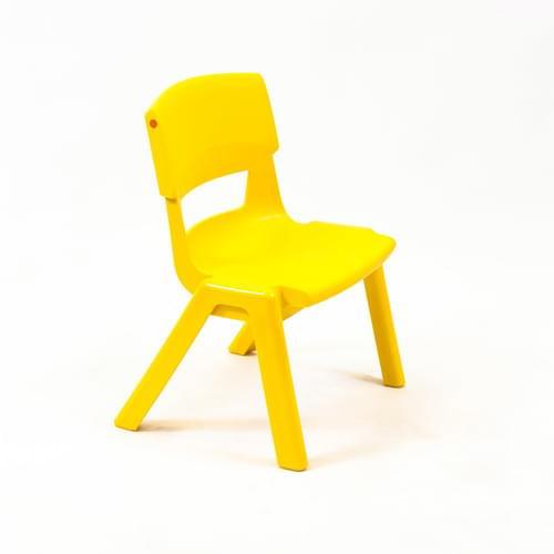 Postura+ Chair Size 1 Seat H260mm Sun Yellow