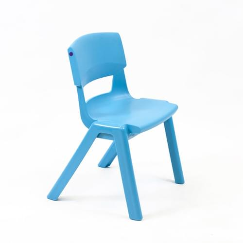 Postura+ Chair Size 2 Seat H310mm Aqua Blue